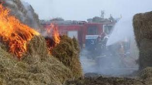 Спасатели МЧС России ликвидировали пожар частного сена в Промышленновском МО