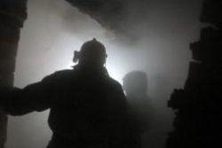 Спасатели МЧС России ликвидировали пожар в муниципальном многоквартирном жилом доме в Березовском ГО