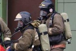 Спасатели МЧС России ликвидировали пожар в муниципальном многоквартирном жилом доме в Тяжинском МО