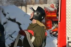 Спасатели МЧС России ликвидировали пожар в частном жилом доме в Беловском МР