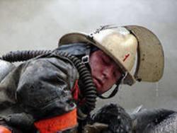 Спасатели МЧС России ликвидировали пожар в частном жилом доме в Крапивинском МО