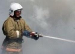 Спасатели МЧС России ликвидировали пожар в частной хозяйственной постройке в Таштагольском МР
