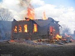 Спасатели МЧС России ликвидировали пожар в частном доме под дачу в Юргинском МО