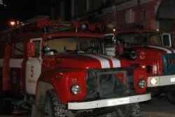 Спасатели МЧС России ликвидировали пожар в частной хозяйственной постройке в Гурьевском ГО
