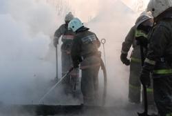 Спасатели МЧС России ликвидировали пожар в частном жилом доме, хозяйственной постройке в Осинниковском ГО
