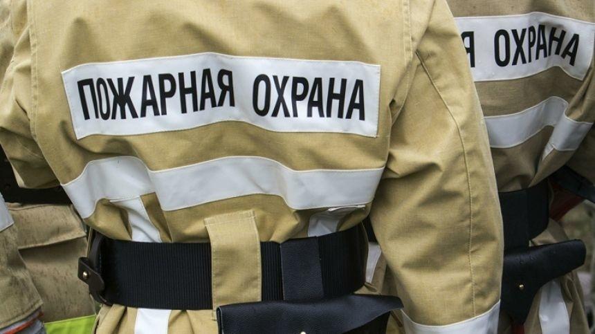 Спасатели МЧС России ликвидировали пожар в частном жилом доме в Кемеровском МО