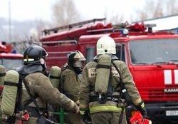 Спасатели МЧС России ликвидировали пожар в частном садовом доме в Калтанском ГО
