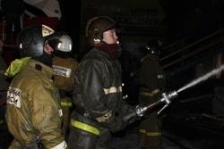 Спасатели МЧС России ликвидировали пожар в муниципальном многоквартирном жилом доме в Анжеро-Судженском ГО