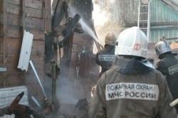 Спасатели МЧС России ликвидировали пожар в частном жилом доме в Междуреченском ГО