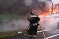 Спасатели МЧС России ликвидировали пожар в спецтехнике в Мысковском ГО