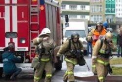 Спасатели МЧС России ликвидировали пожар в муниципальном многоквартирном жилом доме в Гурьевском ГО