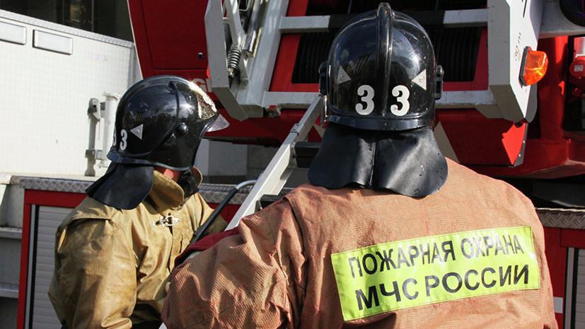Спасатели МЧС России ликвидировали пожар в муниципальном трамвае в Осинниковском ГО